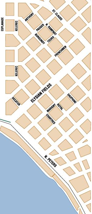 Magazine Street New Orleans Map.New Orleans Area Maps On The Town