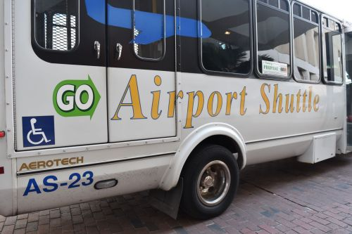 ada compliant airport shuttle new orleans