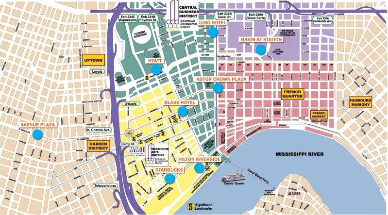 Marriott New Orleans Map.Jean Lafitte Swamp Tours Bigeasy Com