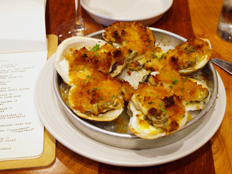 borgne oysters