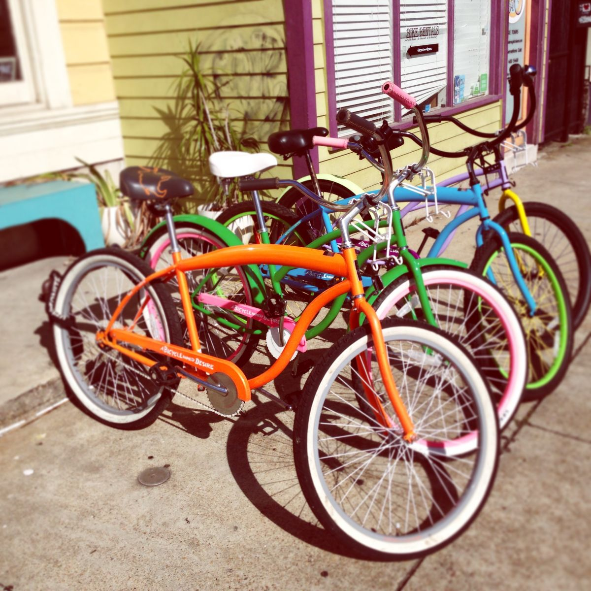 rent bikes in new orleans