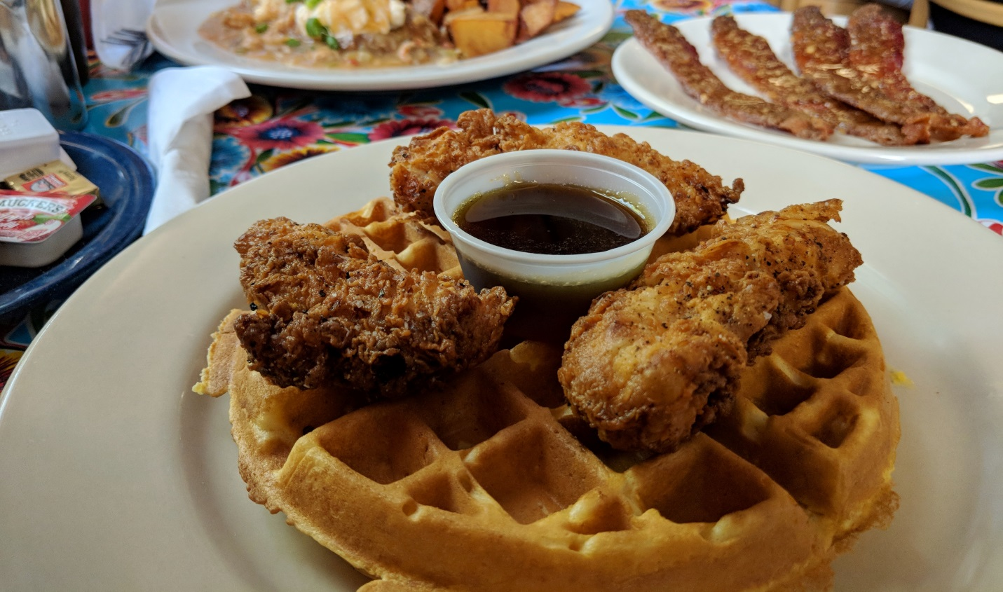 chicken and waffle new orleans