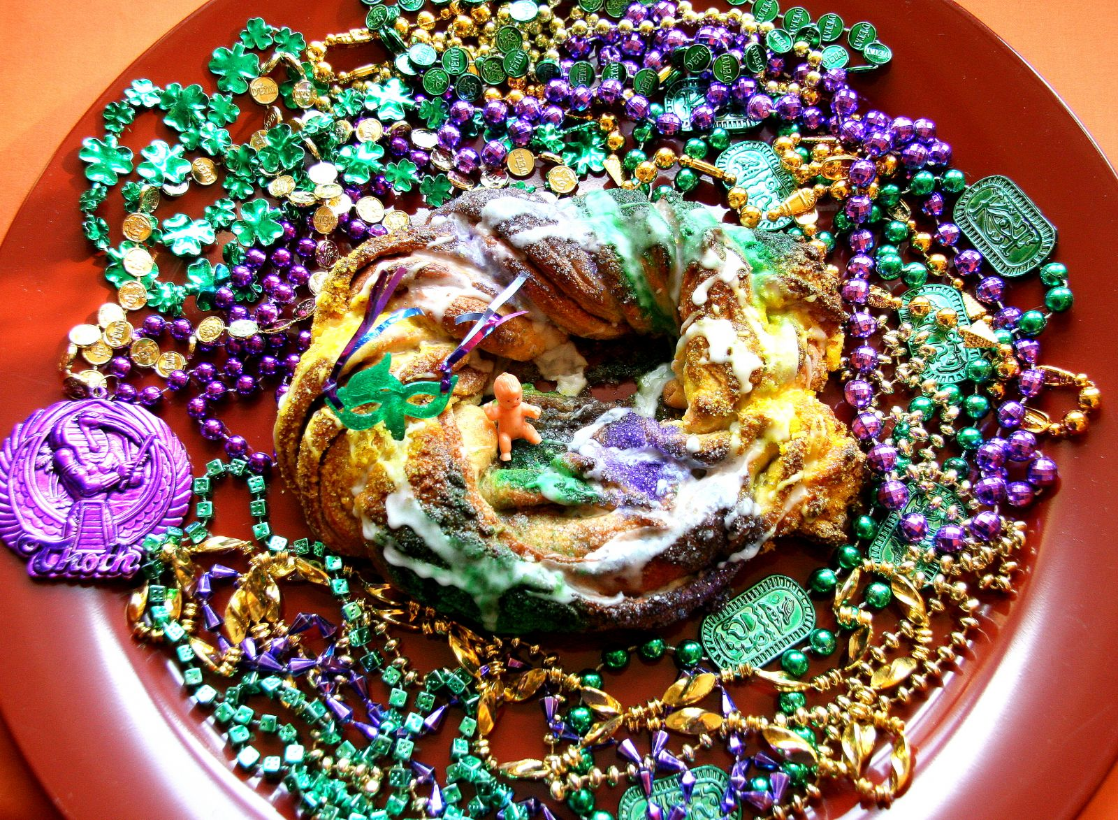 King Cake via Mary Lou Heiss